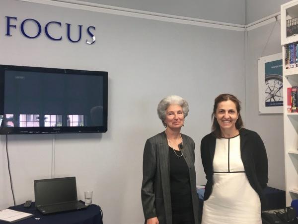 Focus. Judith and Maria